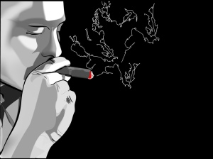 homem-fumando-charuto-wallpaper-21633