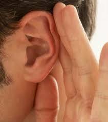 ouça com atenção