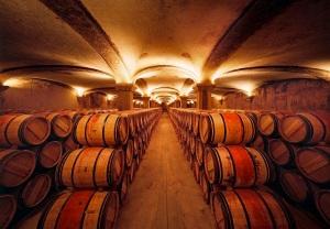 vinho e a madeira