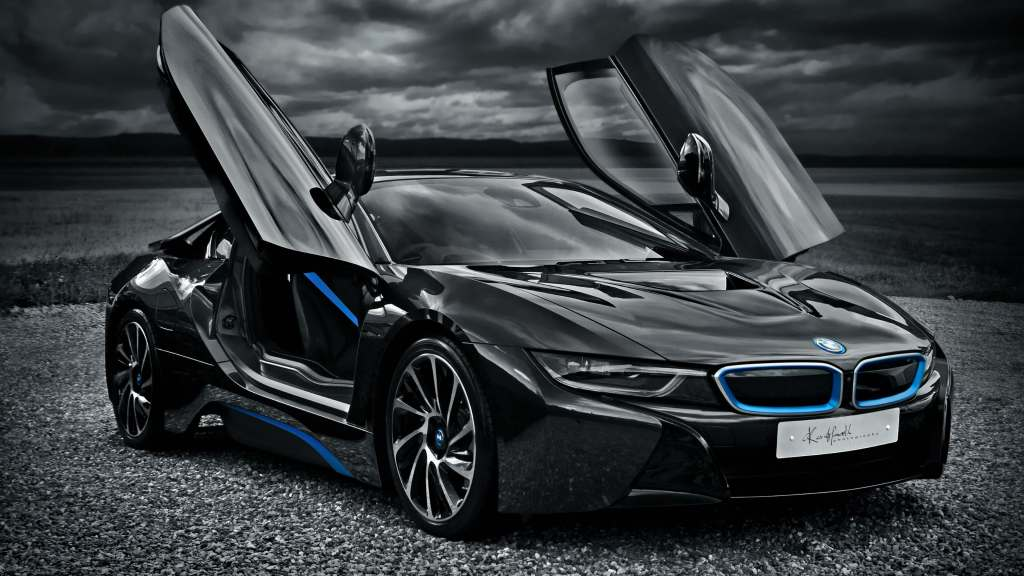 BMW i8 revista GQ